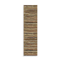 Striation Stripes 2-Foot 3-Inch x 7-Foot 7-Inch Indoor Rug