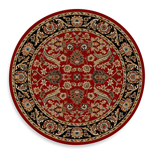 Alternate image 1 for Concord Global Trading Sultanabad 7-Foot 10-Inch Round Rug in Red