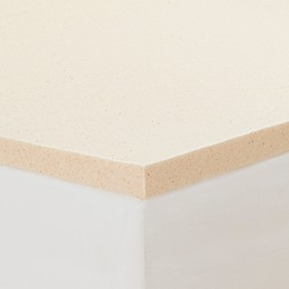 CopperFresh® 2-Inch Memory Foam Mattress Topper in Beige