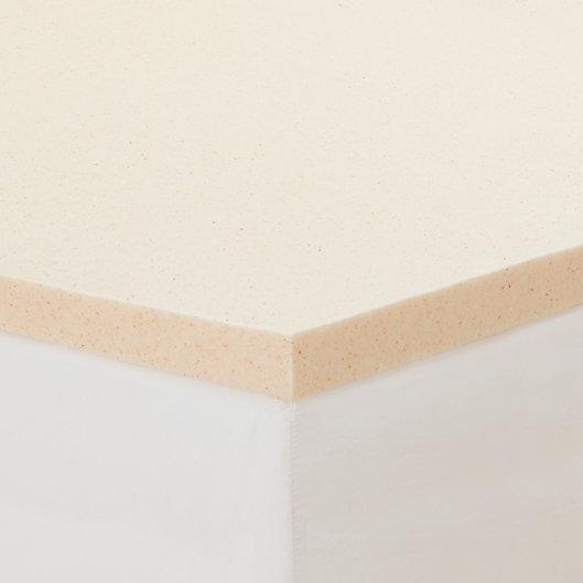 Alternate image 1 for CopperFresh® 2-Inch Memory Foam Mattress Topper in Beige