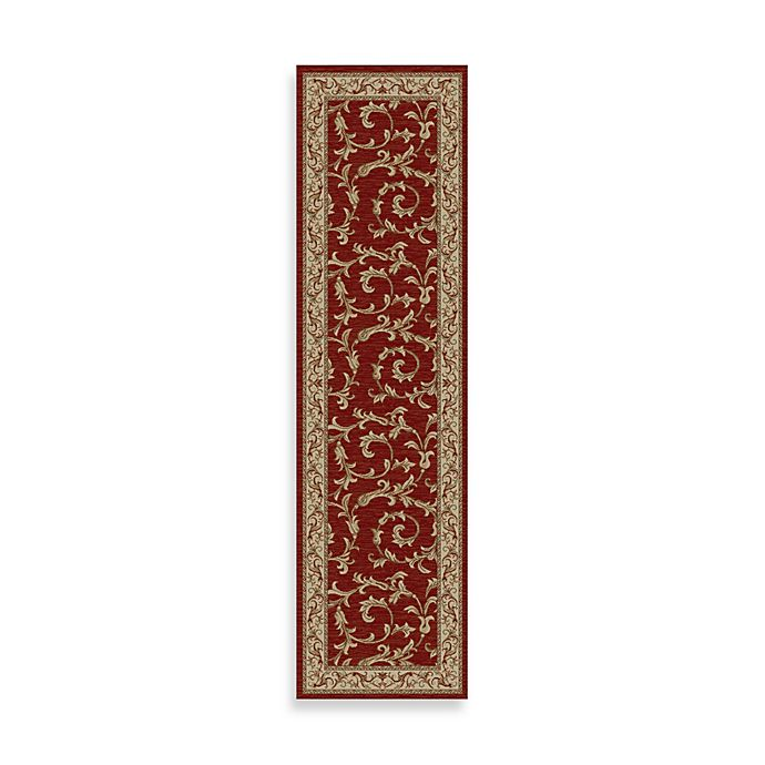 Alternate image 1 for Concord Global Trading Veronica 2-Foot 3-Inch x 7-Foot 7-Inch Rug in Red