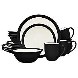 Noritake® Colorwave Curve 16-Piece Dinnerware Set in Graphite