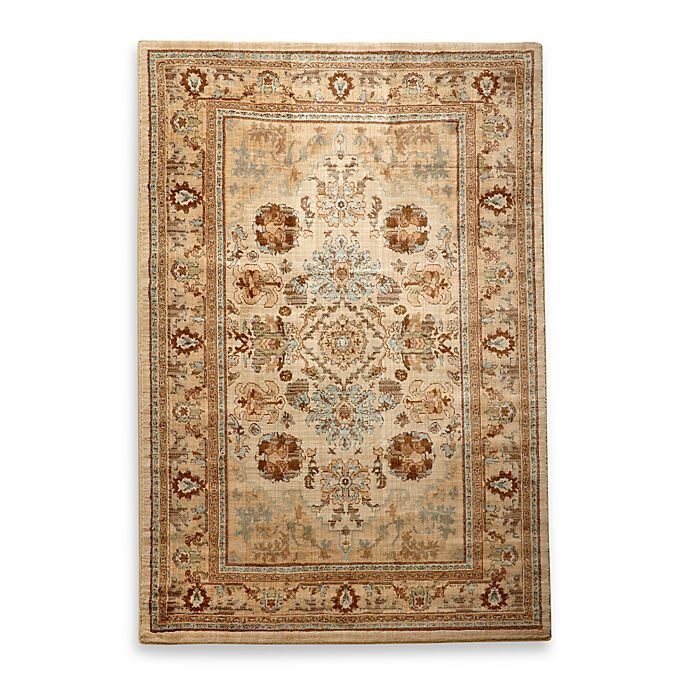 Bed Bath And Beyond Area Rugs Roselawnlutheran Earth Tone: Mohawk Home Serenity Rug In Floral