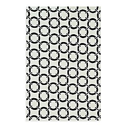 Loloi Rugs Charlotte Rug in Ivory with Onyx