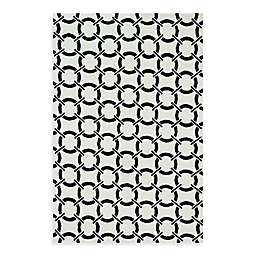 Loloi Rugs Charlotte Circle 2'3 x 3'9 Accent Rug in Onyx
