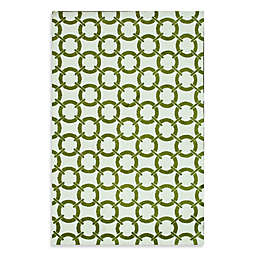 Loloi Rugs Charlotte Circle 2'3 x 3'9 Accent Rug in Peridot