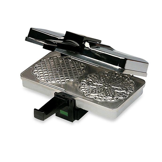 Alternate image 1 for CucinaPro™ Polished Pizzelle Maker