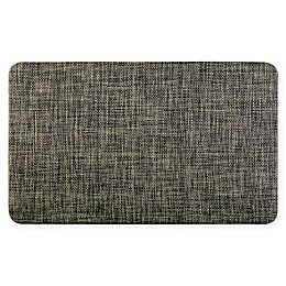 "Home Dynamix 18"" x 30"" Woven Kitchen Mat in Grey"