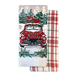 Red Truck Kitchen Towel (Set of 2)
