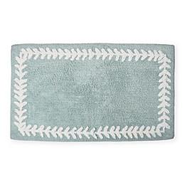 kate spade new york Fern Trellis 21-Inch x 34-Inch Bath Rug in Turquoise