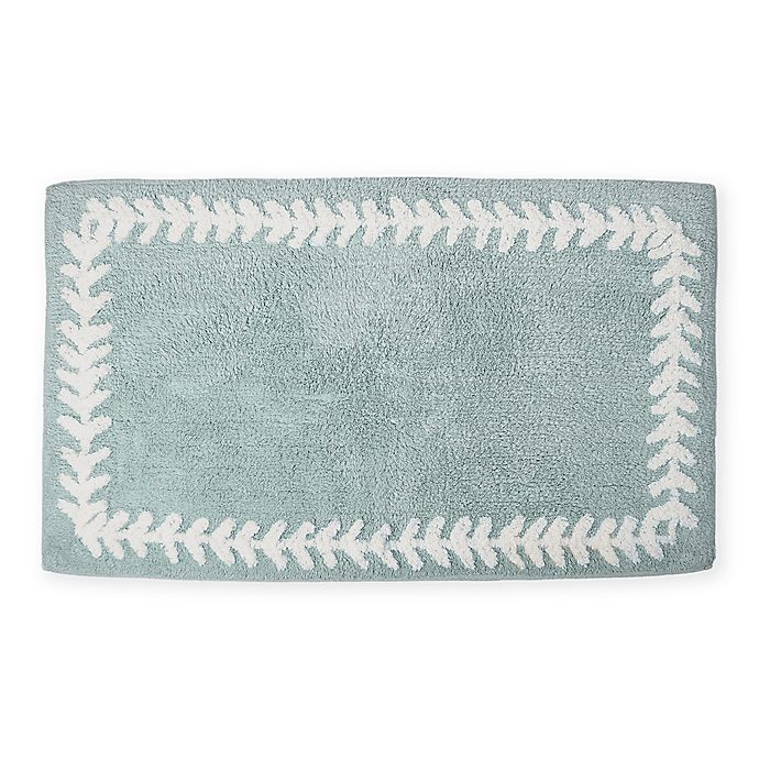 Alternate image 1 for kate spade new york Fern Trellis Bath Rug Collection
