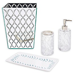 kate spade new york Fern Trellis Bath Ensemble