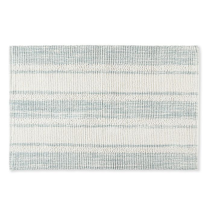 Alternate image 1 for Bee & Willow™ Home Watermill Textured Plaid Bath Rug Collection