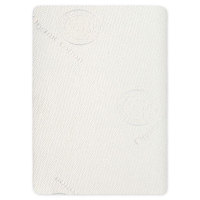Alternate image 1 for evolur™ Tencel Waterproof Portable Crib Mattress Protector