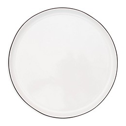 canvas home™ Abbesses Dinner Plates in Black (Set of 4)