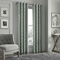 J. Queen New York™ Adorn Grommet Top Embroidered Window Curtain Panel