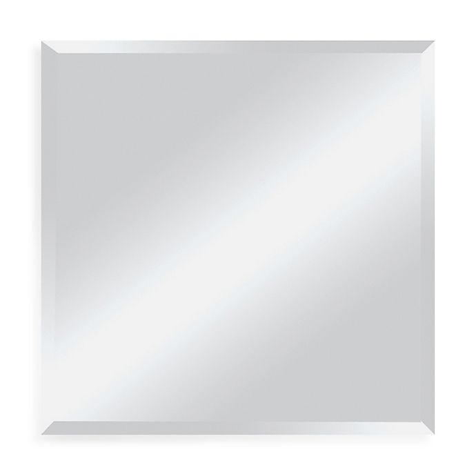 Alternate image 1 for Ren-Wil All-Glass 30-Inch x 30-Inch Mirror