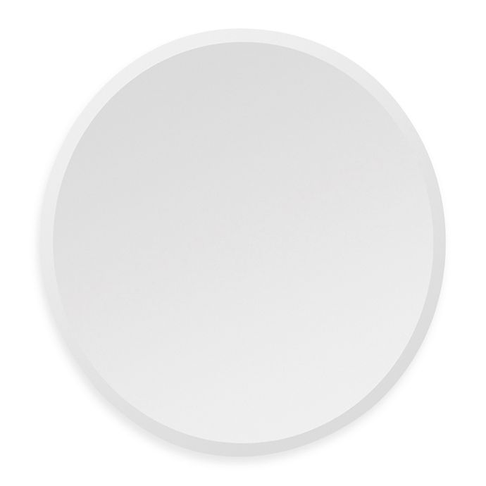 Alternate image 1 for Ren-Wil All-Glass Round Mirror