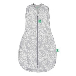 ergoPouch® Bamboo Viscose Cocoon Swaddle Bag in Rainforest Leaves