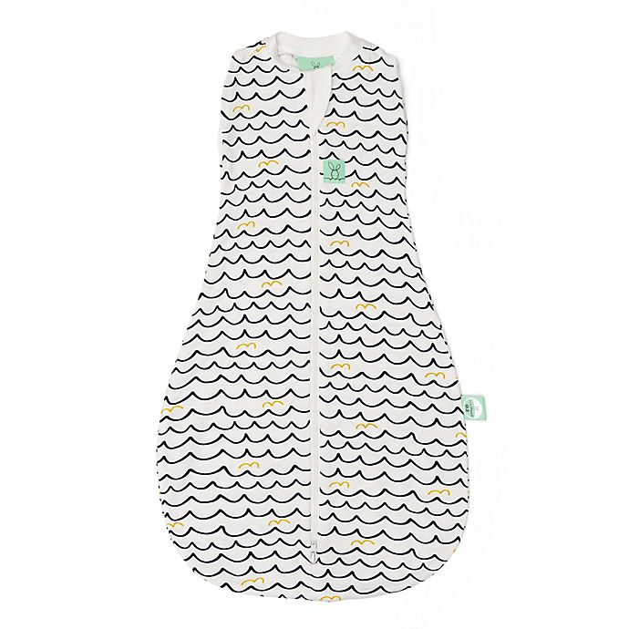 Ergopouch Bamboo Co Swaddle Bag In Waves