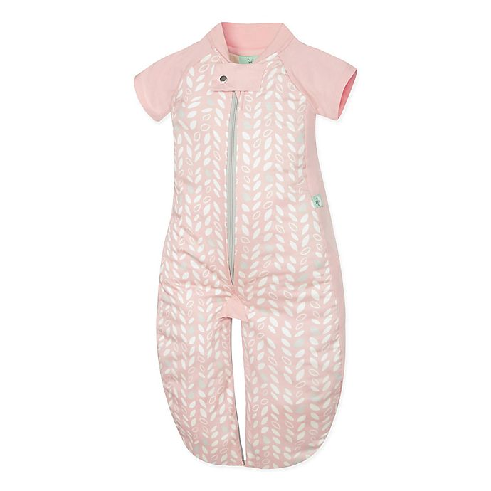Alternate image 1 for ergoPouch® Organic Cotton Sleep Suit Bag in Spring Leaves
