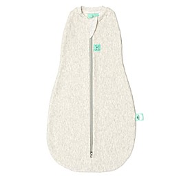 ergoPouch® Organic Cotton Cocoon Swaddle Bag in Grey Marle