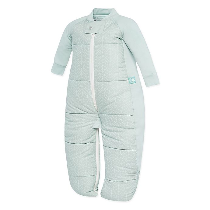 Alternate image 1 for ergoPouch® Mint Leaves Organic Cotton Sleep Suit Bag
