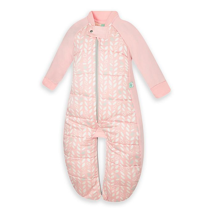 Alternate image 1 for ergoPouch® Spring Leaves Organic Cotton Sleep Suit Bag