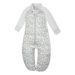 ergoPouch® Grey Mountains Organic Cotton Sleep Suit Bag