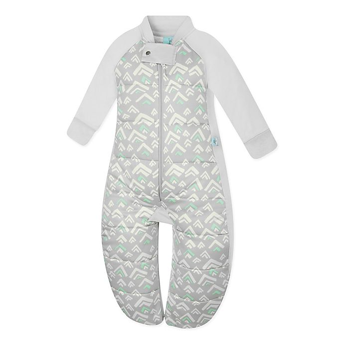 Alternate image 1 for ergoPouch® Grey Mountains Organic Cotton Sleep Suit Bag