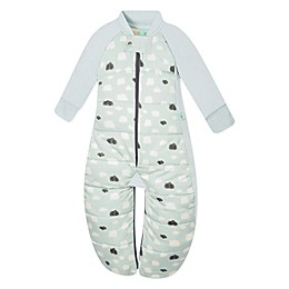 ergoPouch® Mint Clouds Organic Cotton Sleep Suit Bag