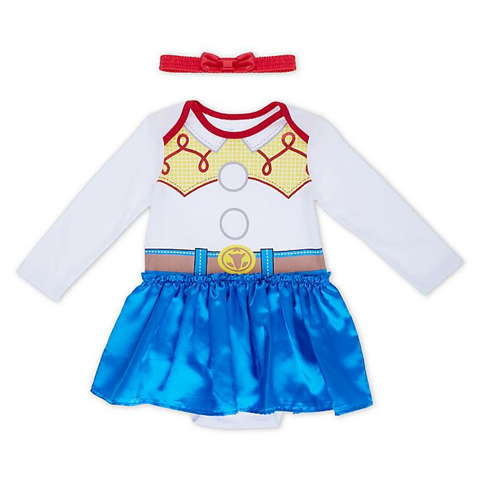 Alternate image 1 for Disney® Toy Story Jessie Bodysuit and Headband Set
