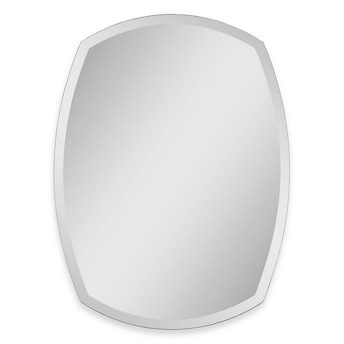 Alternate image 1 for Ren-Wil All-Glass Beveled Mirror