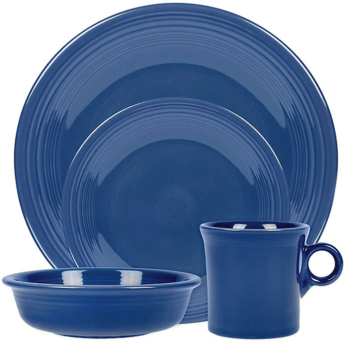 Alternate image 1 for Fiesta® Dinnerware Collection in Lapis