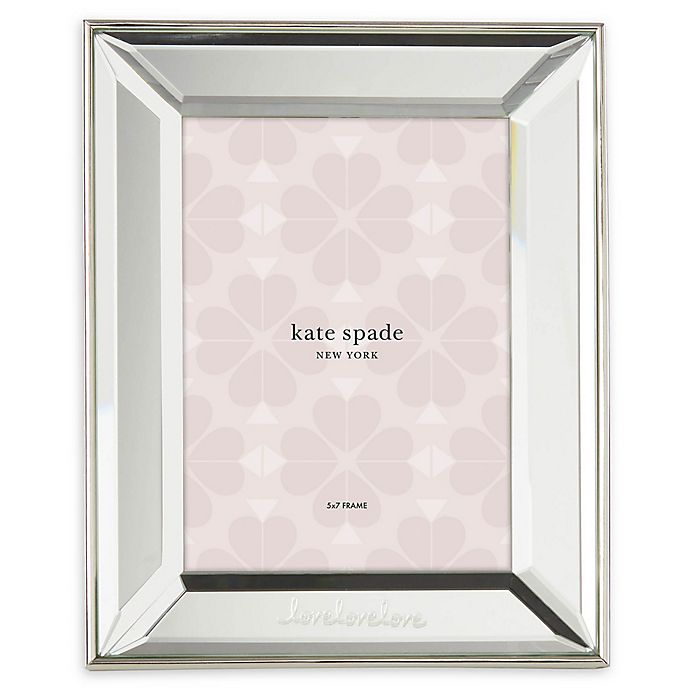 Alternate image 1 for kate spade new york Key Court™ 5-Inch x 7-Inch Picture Frame