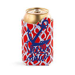 Vera Bradley® Nautical Anchor Koozie in Red