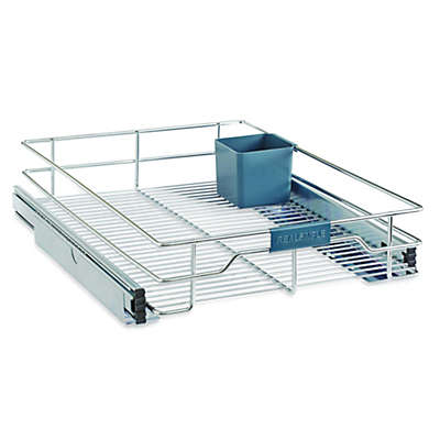 Real Simple® Sliding Under-Cabinet Organizer in Chrome