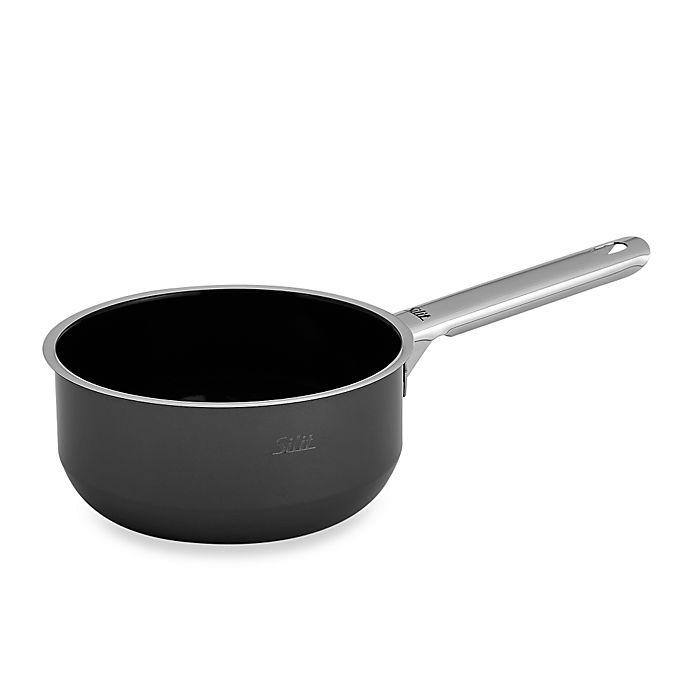 Buy Wmf Silit Ceramic 1 5 Quart Saucepan In Black From Bed