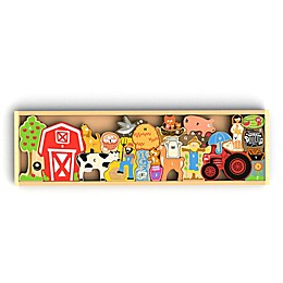 BeginAgain 26-Piece Farm A to Z Puzzle and Playset
