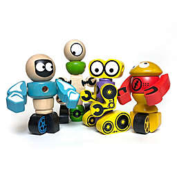 BeginAgain 28-Piece Tinker Totter Robots Character Set
