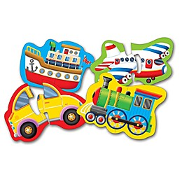 The Learning Journey Things That Go My First Shaped Puzzles (Set of 4)