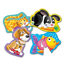 The Learning Journey Pet Friends My First Shaped Puzzles (Set of 4)