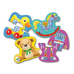 The Learning Journey My Toys My First Shaped Puzzles (Set of 4)