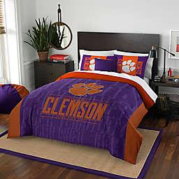 Clemson Modern Take Comforter Set