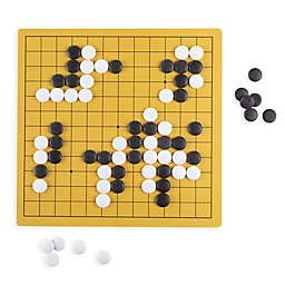 Hey! Play! Reversible Go Board Game in Black/White