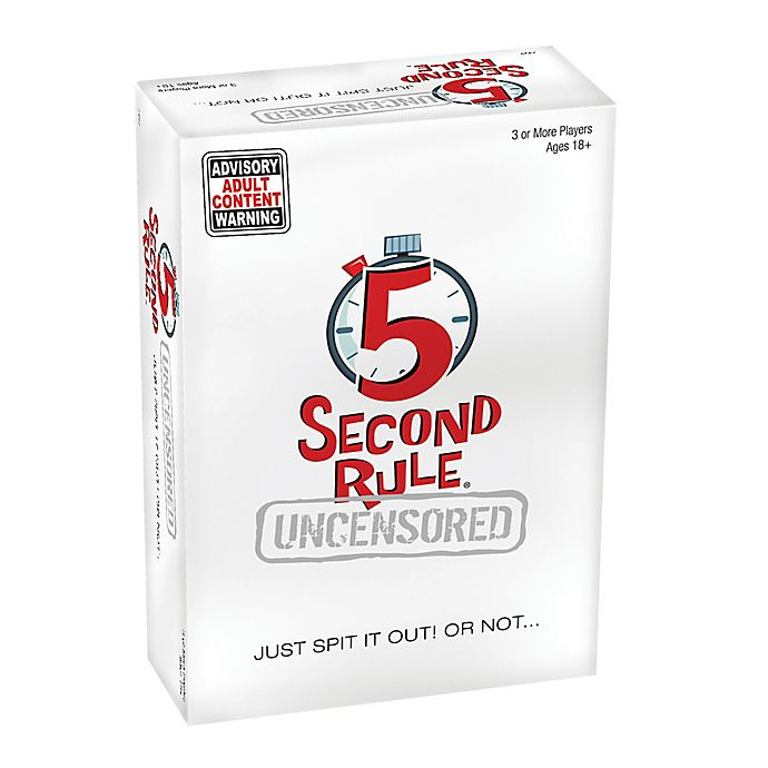 Alternate image 1 for 5 Second Rule™ Uncensored Card Game