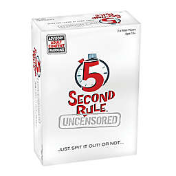 5 Second Rule™ Uncensored Card Game