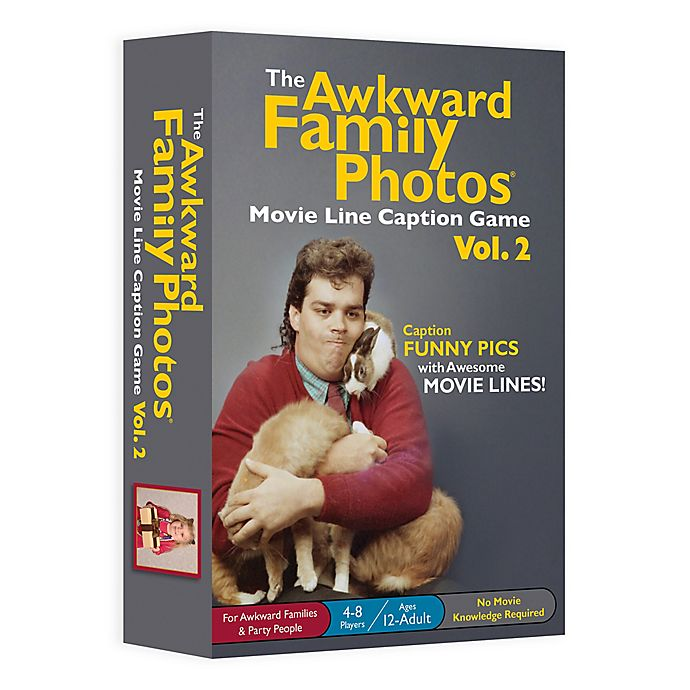 Alternate image 1 for All Things Equal Awkward Family Photos™ Movie Line Caption Volume 2 Card Game