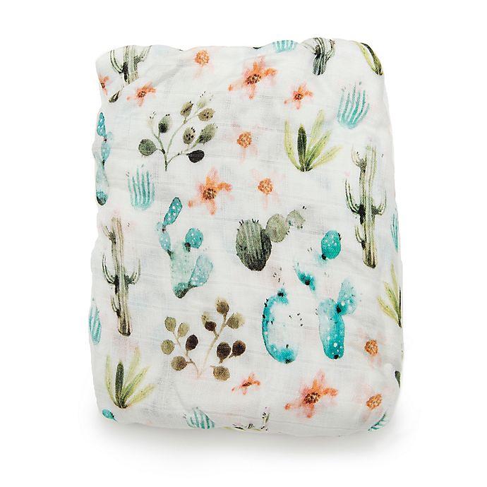 Alternate image 1 for Loulou Lollipop® Cactus Floral Crib Sheet