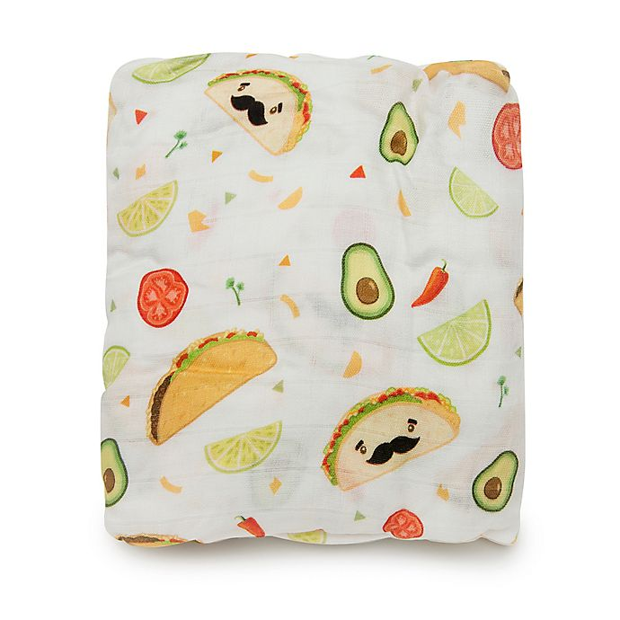 Alternate image 1 for Loulou Lollipop® Tacos Crib Sheet